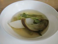 Vegetable sinigang soup