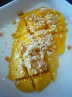 Cubed Mango with Coconut
