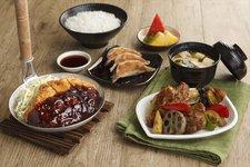 Pork Cutlet in Miso Sauce and Black Vinegar Chicken Sets