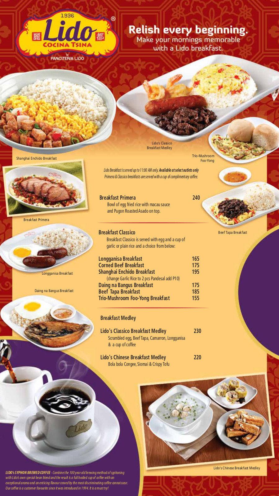 Lido Chinese Restaurant Philippines