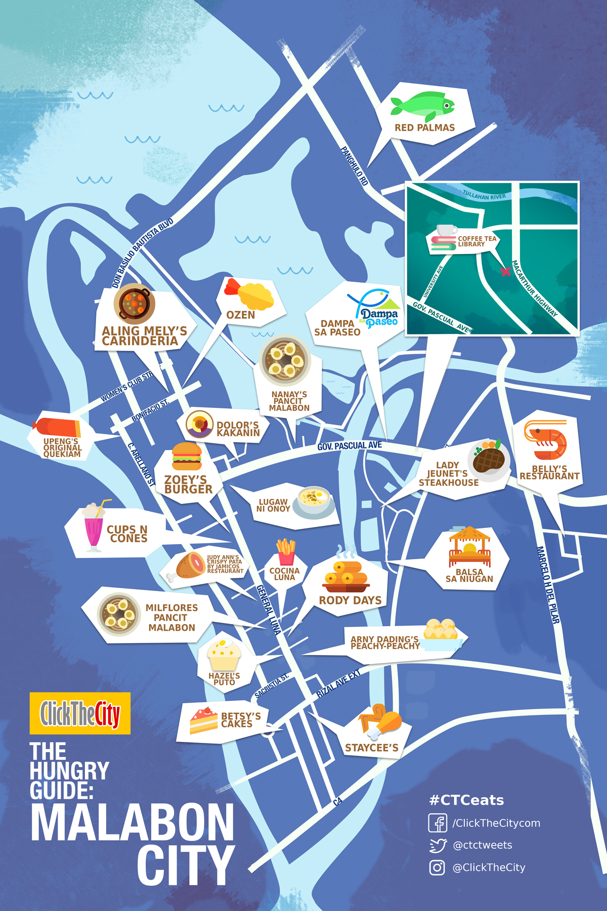 The Hungry Guide Click The City Malabon City Metro Manila