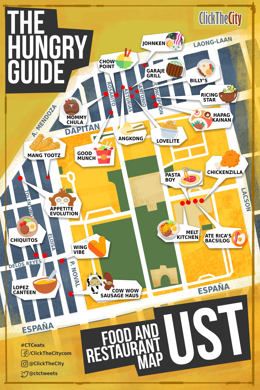 The Hungry Guide Click The City University of Santo Tomas Metro Manila