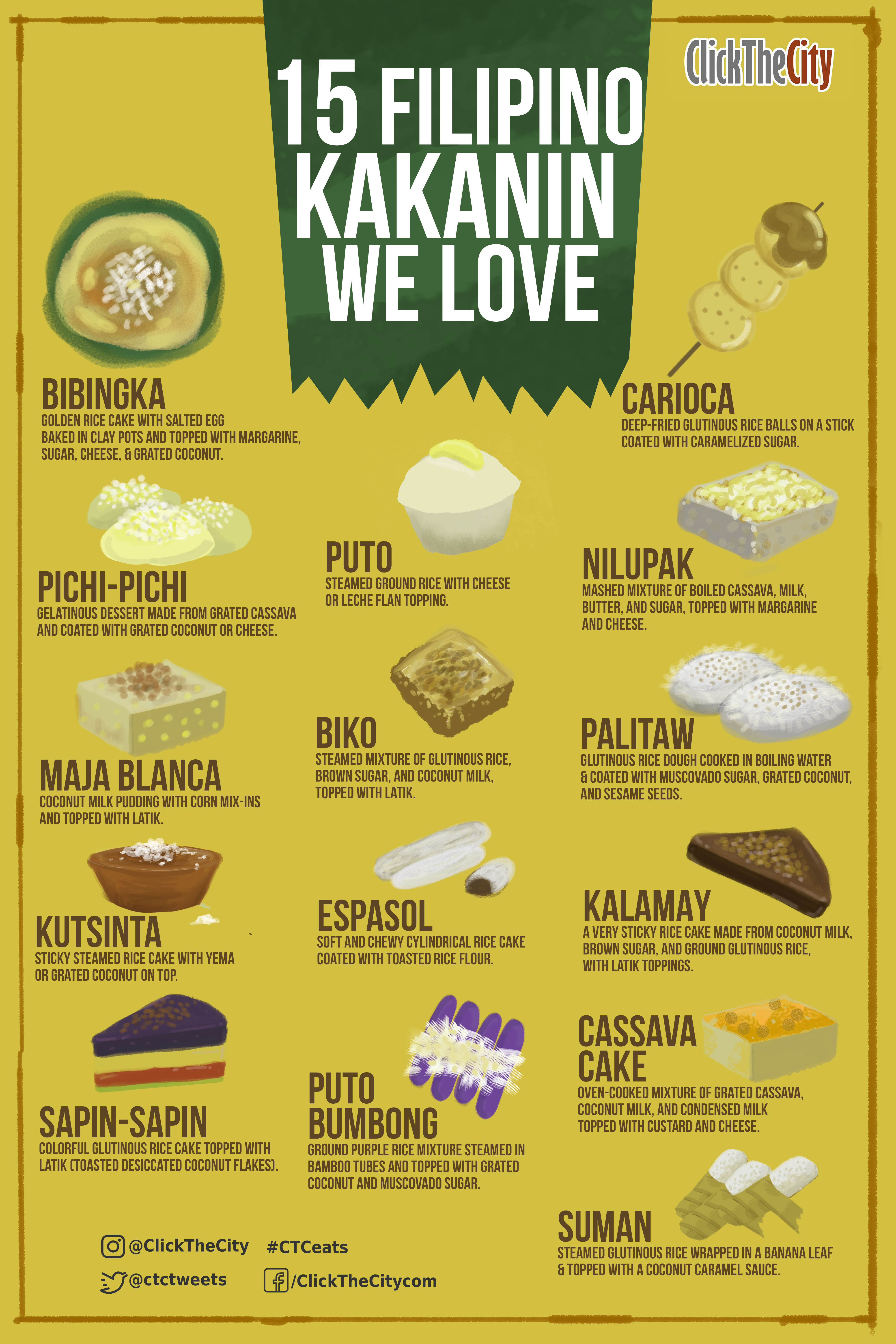 the anatomy of Pinoy Halo-Halo clickthecity infographic