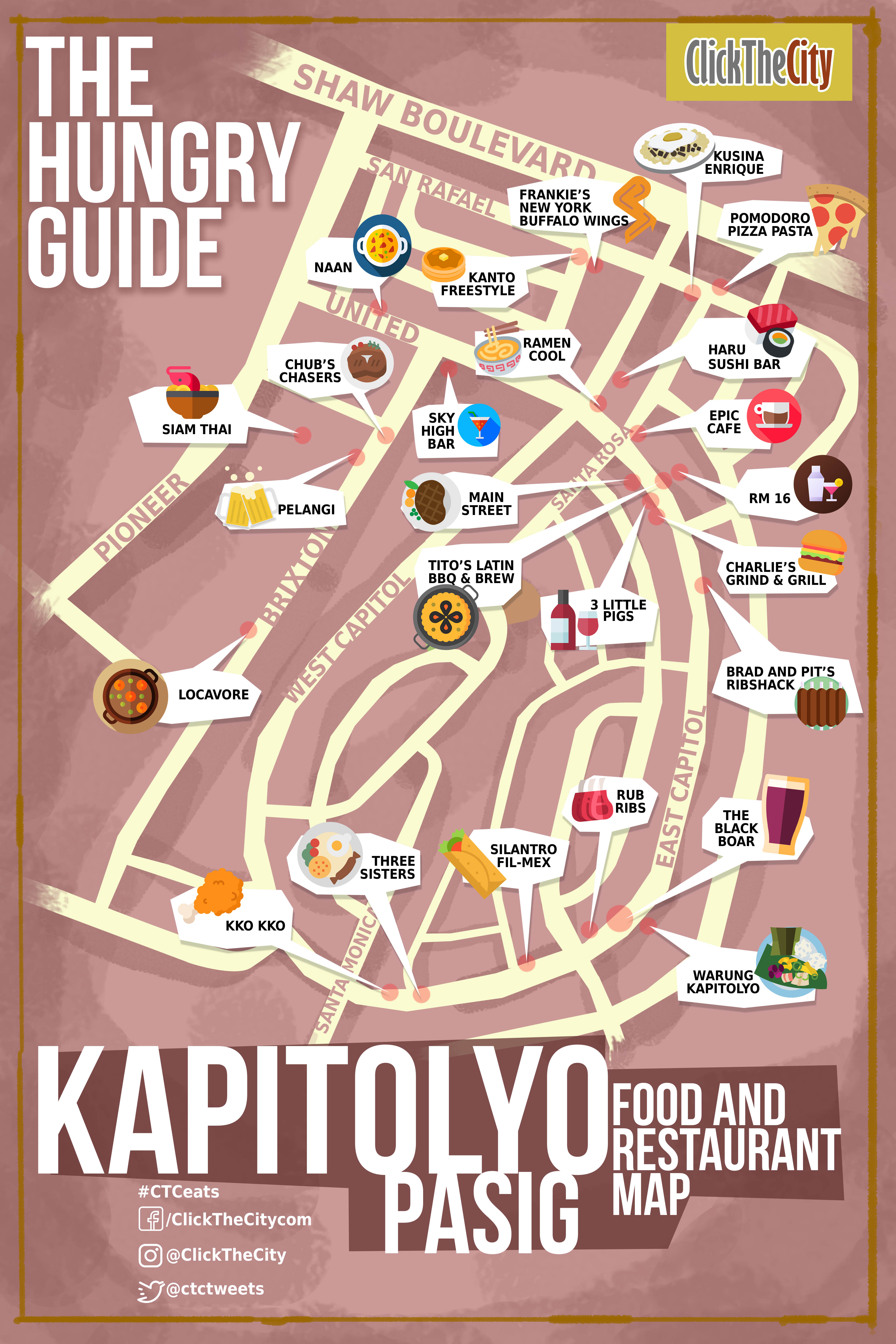 The Hungry Guide Click The City Legazpi Village Makati City