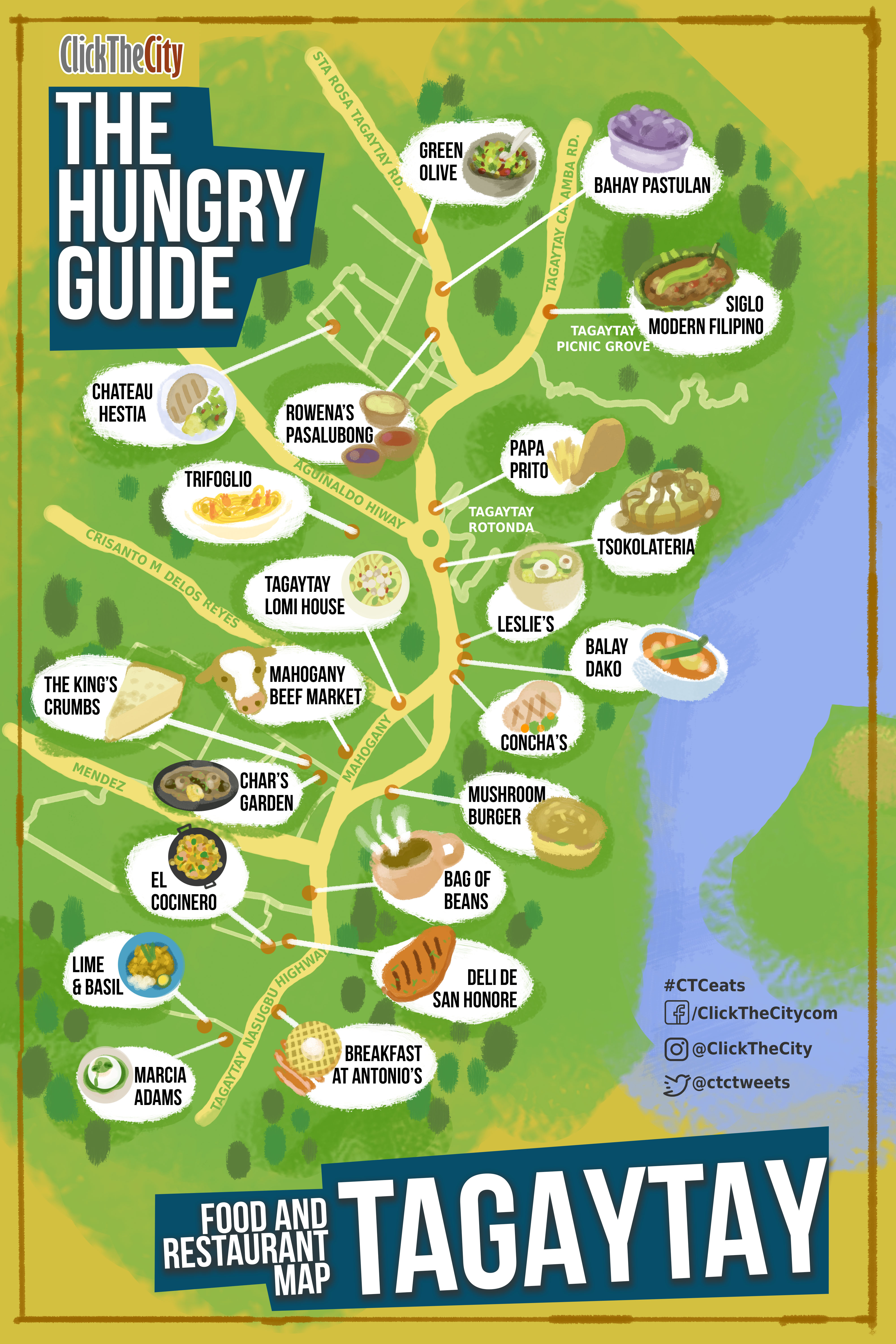 The Hungry Guide Click The City Tagaytay City Cavite