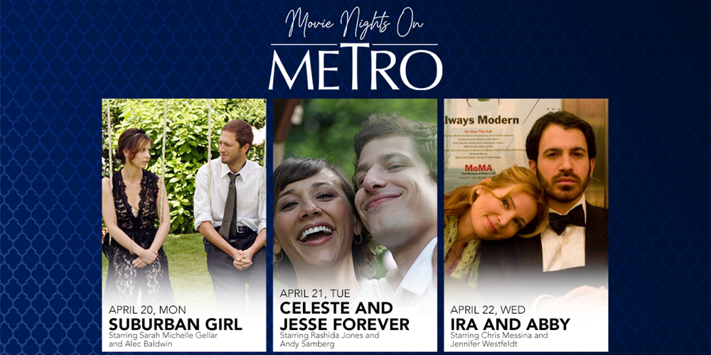 Metro Channel to Screen Romance Films Until May 2