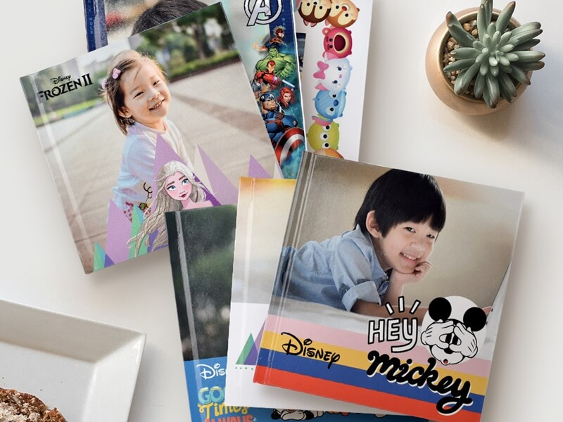 Get Personalized Disney & Marvel Themed Photo Books For Free!