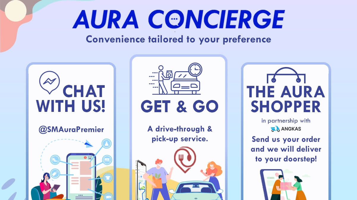 SM Aura's Concierge Brings Convenient Solutions to Shoppers at Home