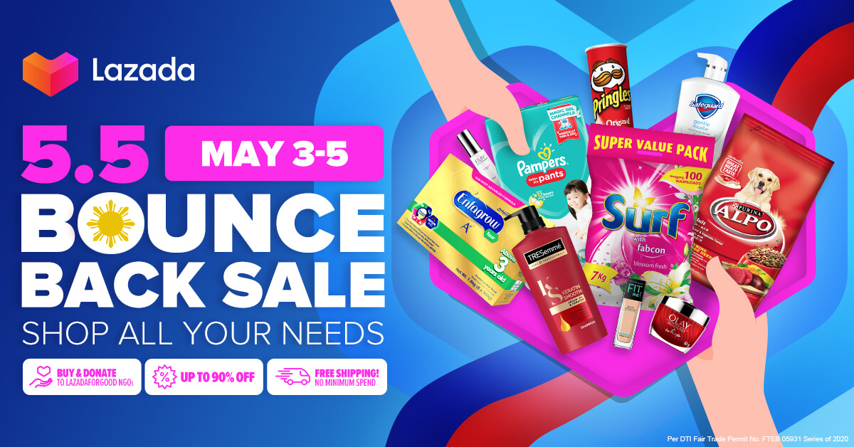 Lazada's Bounce Back Sale: Shop Your Essentials and Support Local Sellers