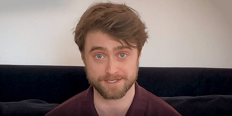 Daniel Radcliffe Reads Sorcerer's Stone for 'Harry Potter at Home' Initiative