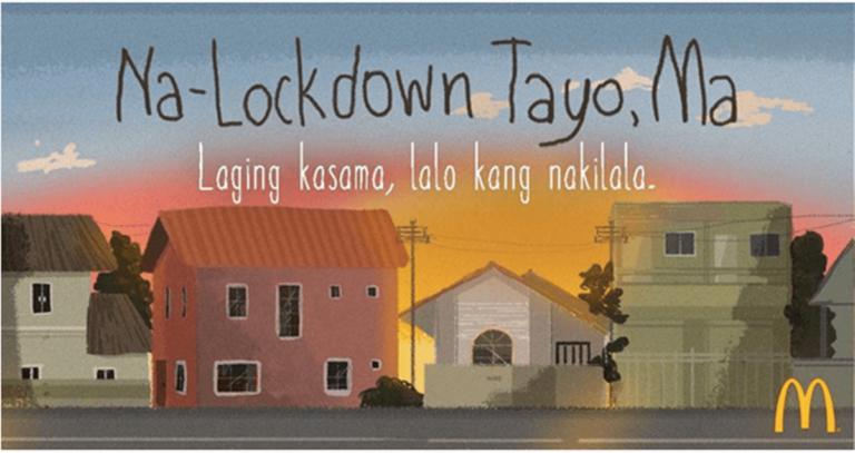 Na-Lockdown Tayo, Ma poster