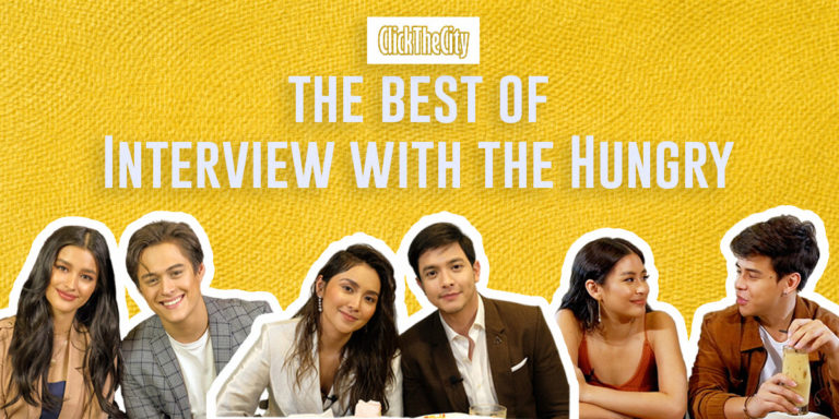 Watch your favorite Filipino celebrities eating while being interviewed