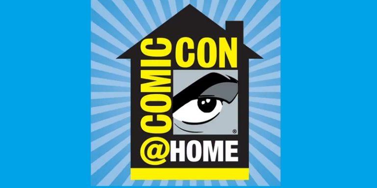 Comic-Con@Home Poster