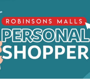 Robinsons Malls Delivery and Shopping Services