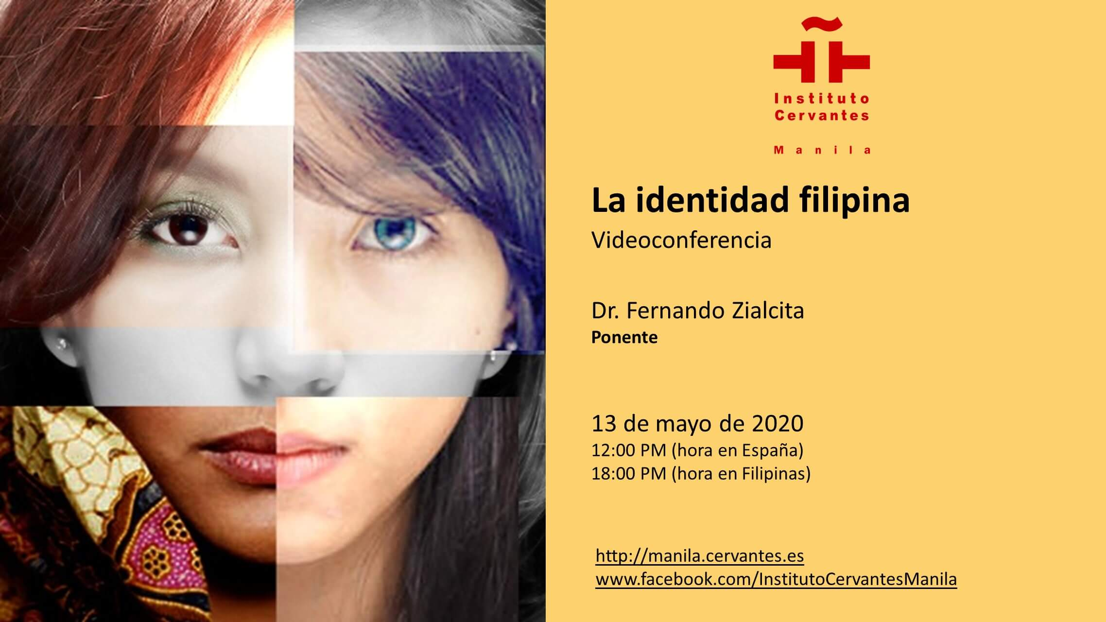 Instituto Cervantes to Hold Online Talk on The Filipino Identity