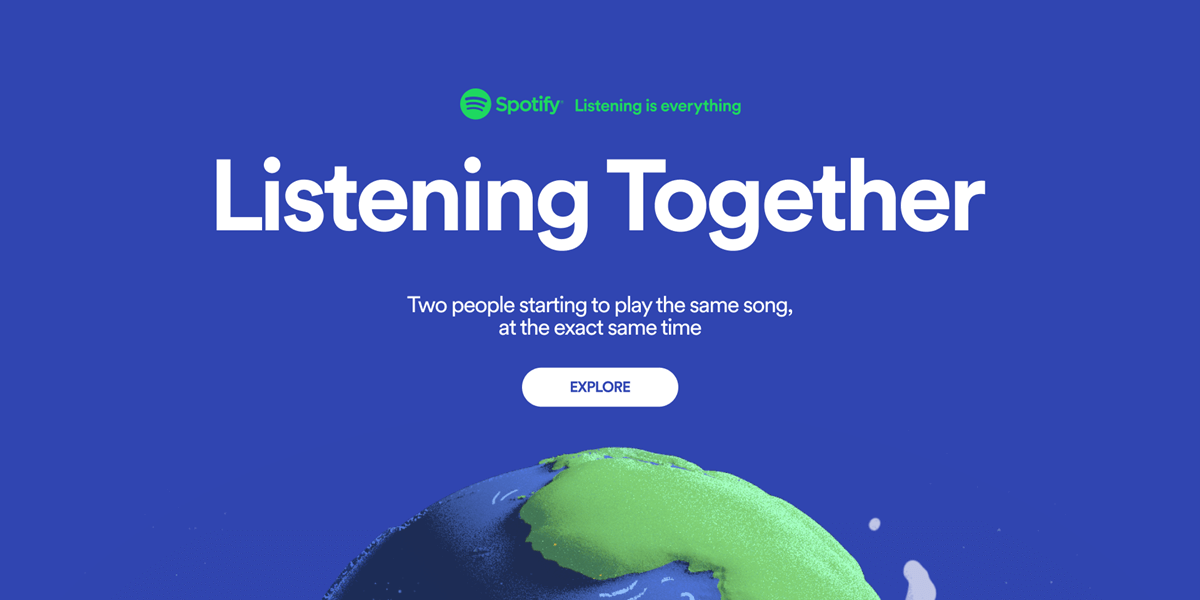 Spotify Brings Us Closer with 'Listening Together' Campaign