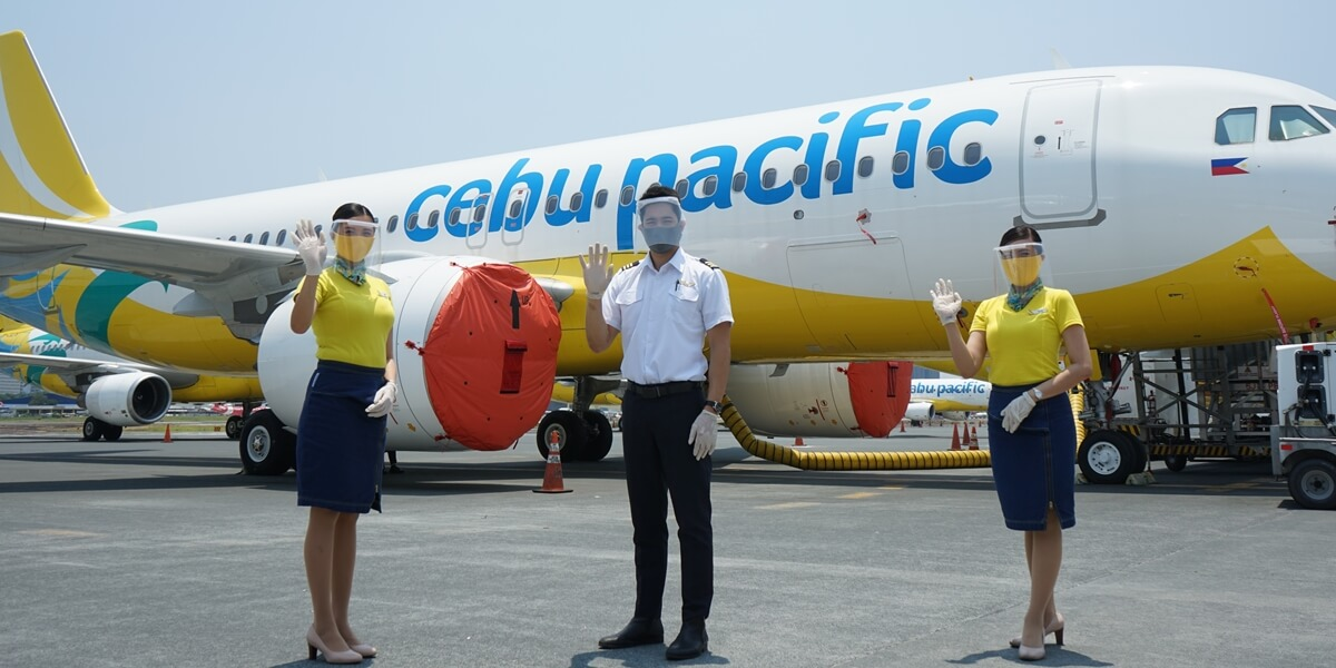 Cebu Pacific Prepares for 'New Normal' with Contactless Flights