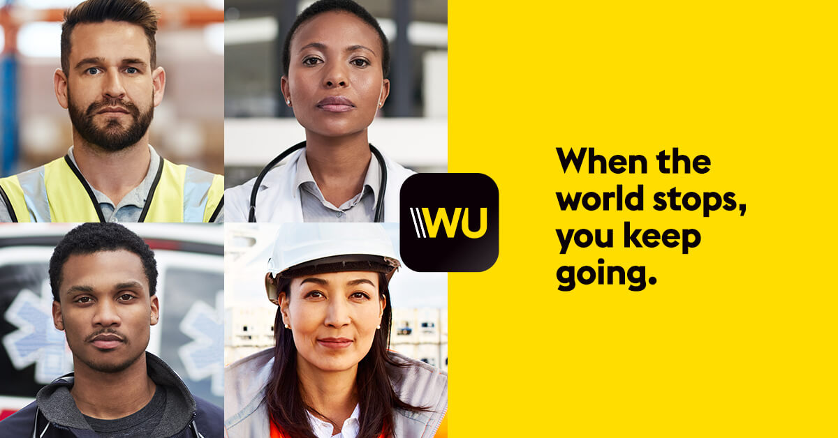 Frontliners, Essential Workers' Money Trasfer Fee Get 50% Off from Western Union