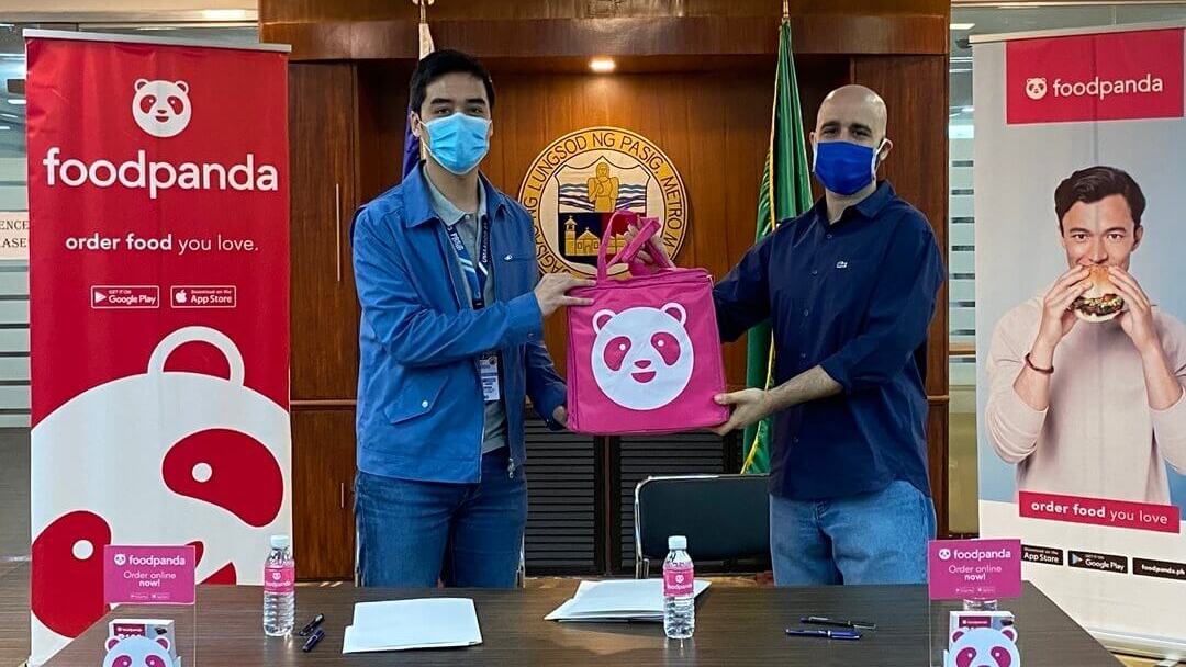 foodpanda and Pasig City Government Team Up to Give Jobs to Tricycle Drivers