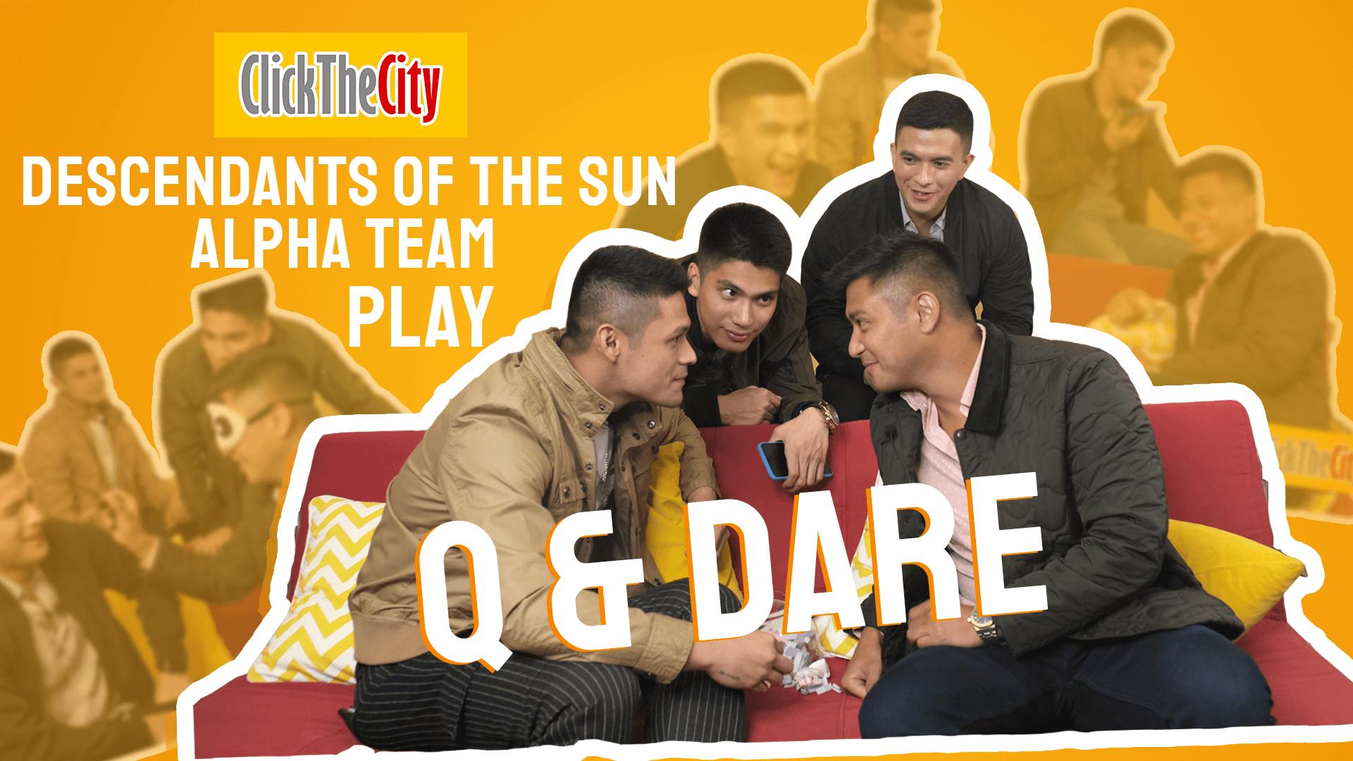 Q&Dare: Descendants of the Sun Philippines Cast