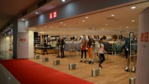 Uniqlo Reopens