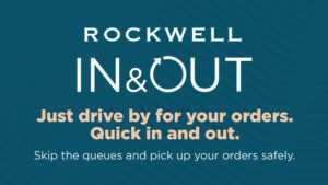 Rockwell's Newest Pick-Up Service, Rockwell In & Out