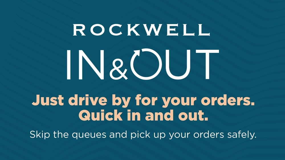 Rockwell Introduces Pick-Up Service 'Rockwell In & Out'