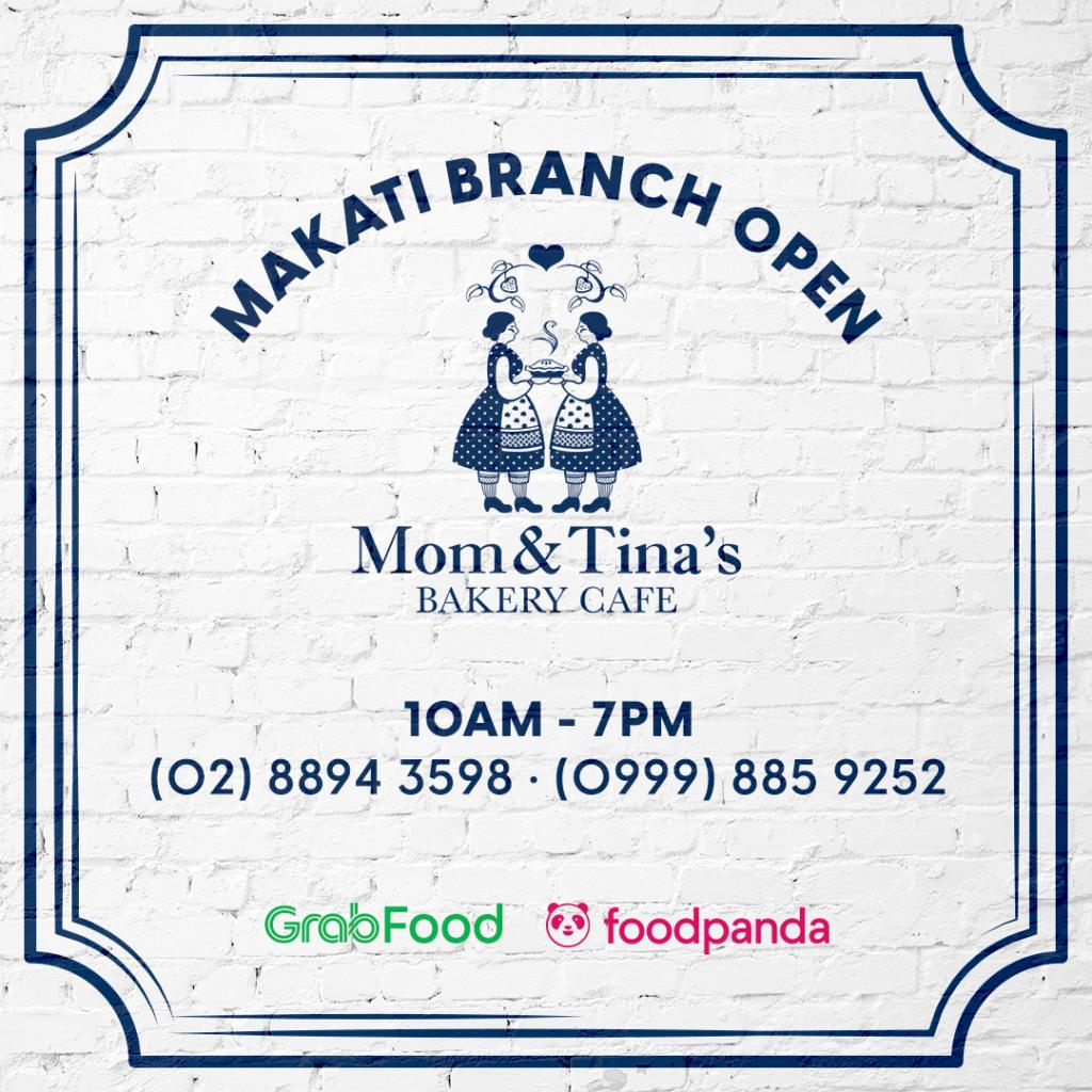 Mom & Tina's Makati Branch Order details