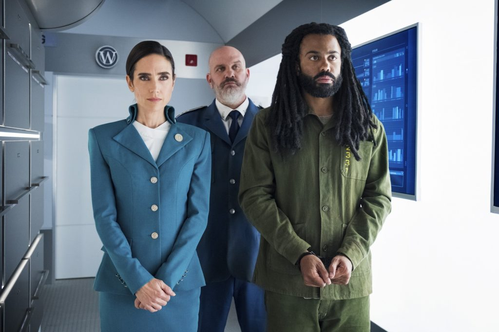 Jennifer Connelly as Melanie Cavill, Head of Hospitality and Daveed Diggs as Andre Layton
