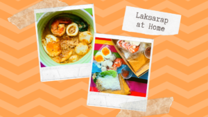 Laksa Kits from Shang Fort's High Street Cafe