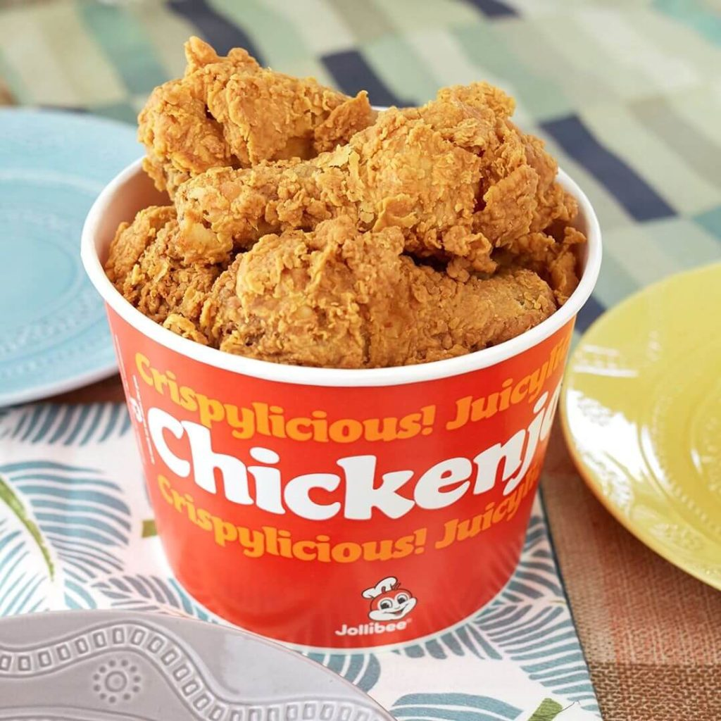 Jollibee chicken bucket