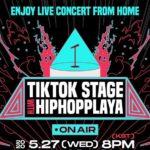 TikTok hosts Hiphopplaya 2020