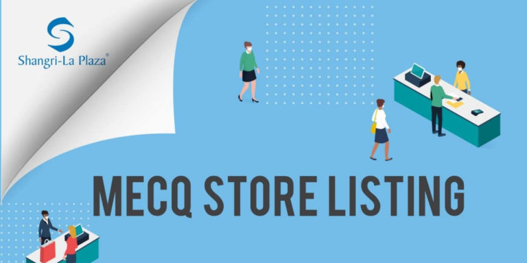 Shangri-La Plaza MECQ Store Listing