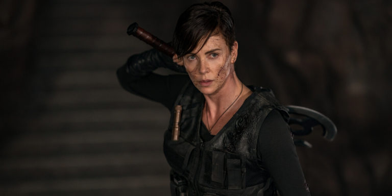 Charlize Theron on The Old Guard
