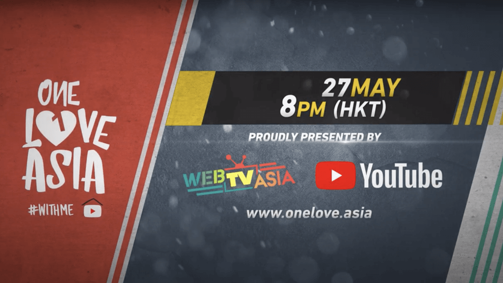 WebTVAsia and YouTube Partners Up For 'One Love Asia' Concert
