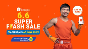 Shopee's 6.6. Super Flash Sale
