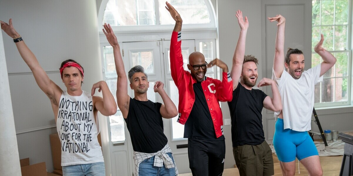 Queer Eye Season 5 is a Source of Sunshine This Pride Month