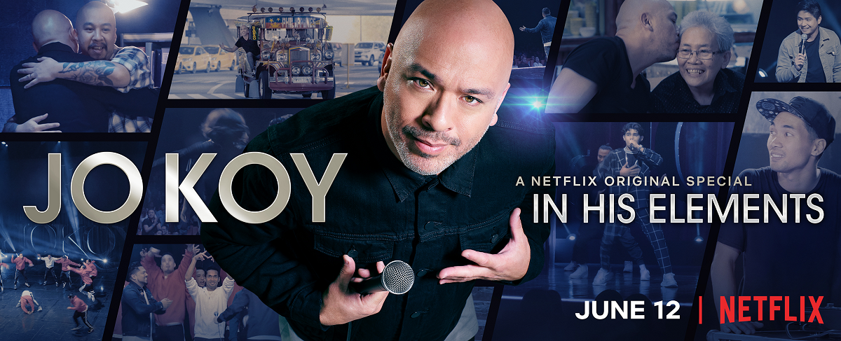 Netflix Special 'Jo Koy: In His Elements' Puts Filipino Pride Onstage