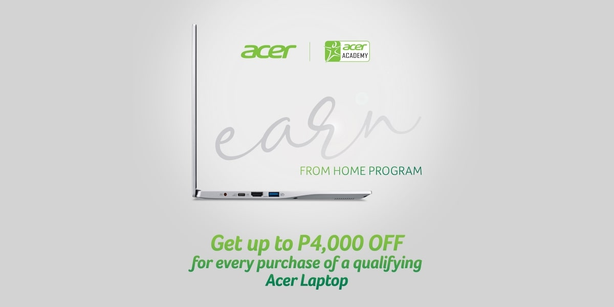 Get Discounts on Acer Laptops Through Their Learn From Home Program