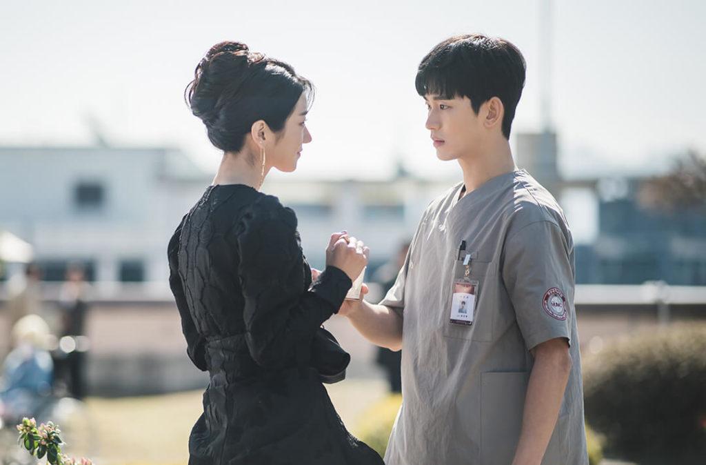 Kim Soo Hyun and Seo Ye Ji as Gang Tae and Moon Yeong for It's Okay To Not Be Okay
