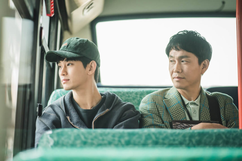 Kim Soo Hyun and Oh Jung Se as Gang Tae and Sang Tae for It's Okay to Not Be Okay