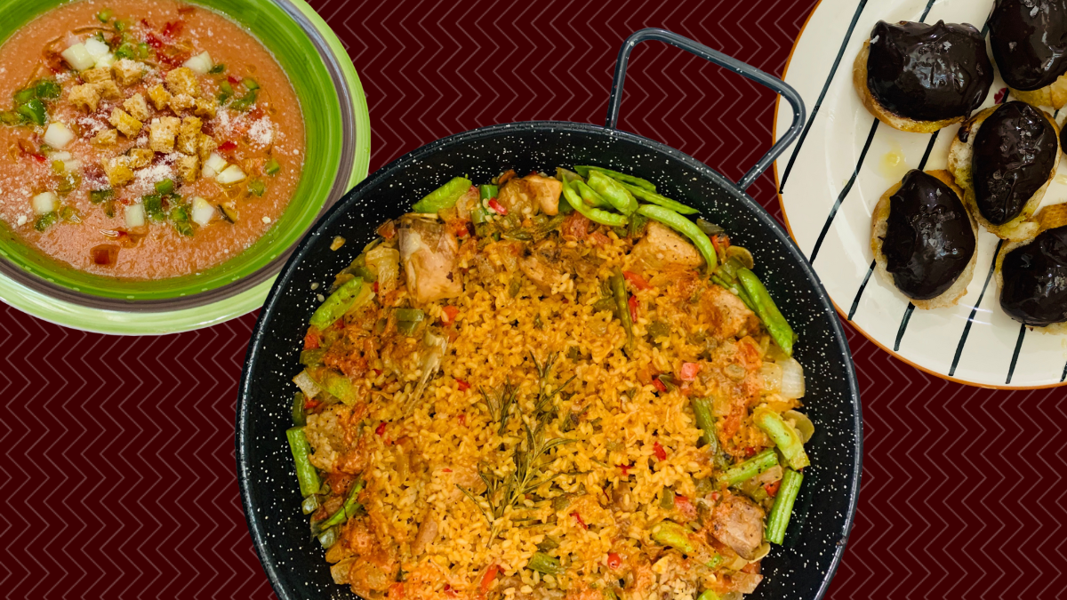 Make Paella at Home With Hola Bombon's Online Cooking Classes