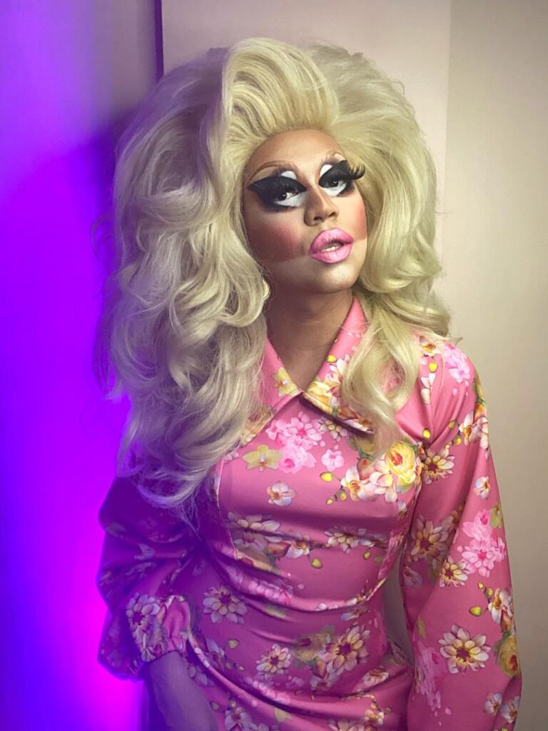 Filipino Drag Queen Vinas DeLuxe as Trixie Mattel in Trixie Mattel: Moving Parts on Netflix