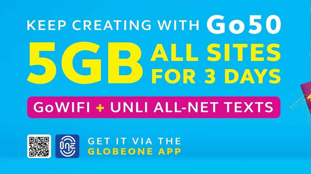 Check Out the New Go Promos You Can Now Avail from Globe!