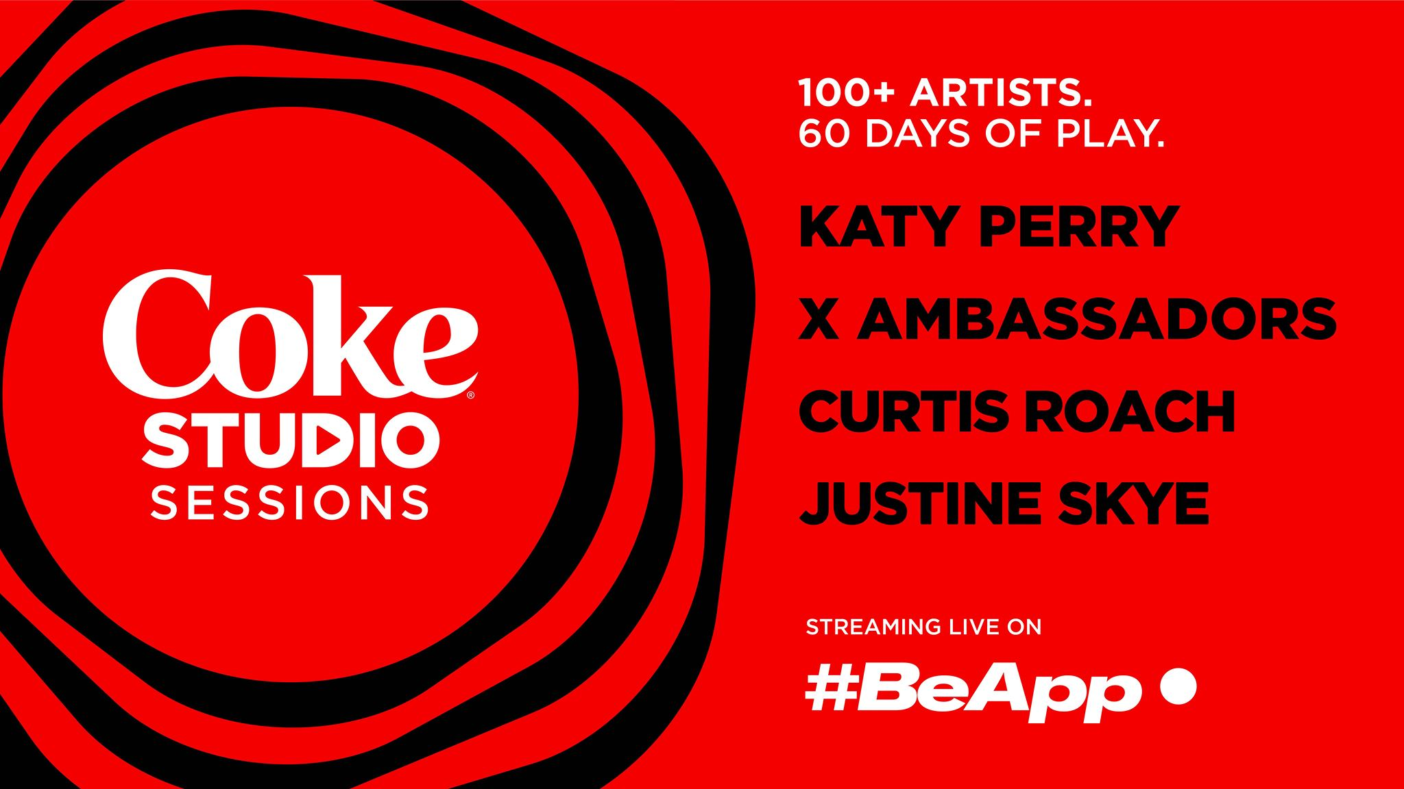 Live Streaming Platform #BeApp Partners With Coke Studio Sessions
