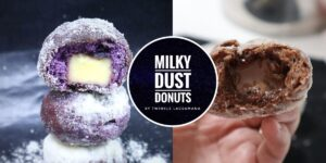 Milky Dust Donuts