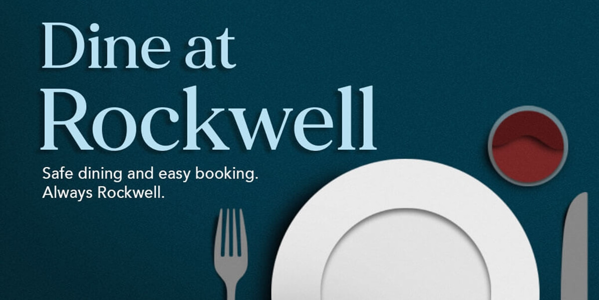 Safe Dining, Easy Booking at Rockwell Restaurants