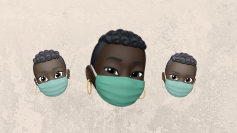 Apple Memoji Face Mask Update