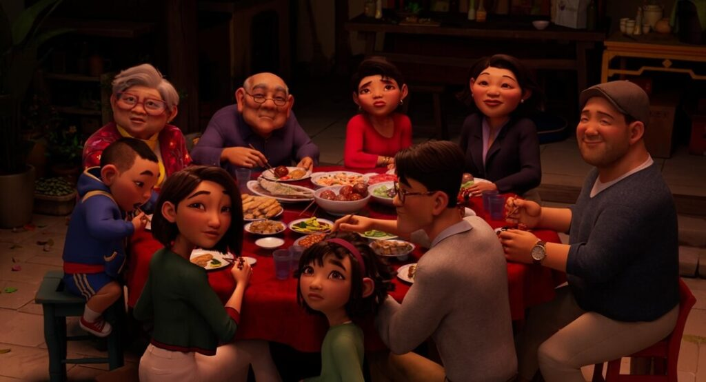 Fei Fei's family