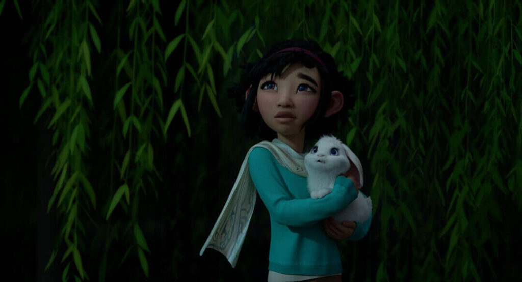 Fei Fei and Bungee the Rabbit